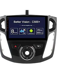 possedere c500 più octa core 32gb rom 2gb ram android 6.0 unità gps navi unità radio unità per ford focus 2012 2015 supporto 4g lte tpms