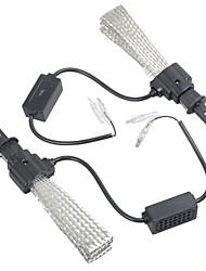 abordables -2pcs H4 / H1 Automatique Ampoules électriques LED Intégrée 4000 lm Lampe Frontale Pour