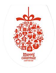 economico -Natale Parole e citazioni Moda Adesivi murali Adesivi 3D da parete Adesivi toilet 3D,Vinile Materiale Decorazioni per la casa Sticker