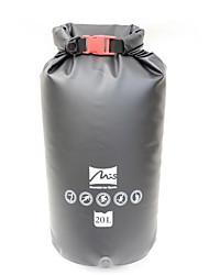 Недорогие -20 L Водонепроницаемый брезентовый мешок Быстровысыхающий Анатомический дизайн Дожденепроницаемый Пригодно для носки для Плавание Дайвинг
