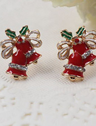 cheap -Women's Stud Earrings Rhinestone Sweet Hiphop Rhinestone Alloy Tree of Life Jewelry For Christmas Street