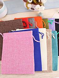 porte-favoris en coton cuboïde avec des sacs de faveur faveurs de mariage belle
