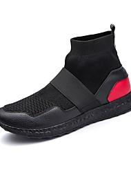 Homme Chaussures Confort Bottes de neige Bottes Cavalières Bottes à la Mode Botillons boîtes de Combat bottes slouch Marche Bottine/Demi