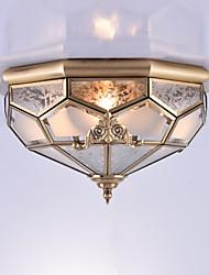 baratos -Tradicional/Clássico Estilo Mini Montagem do Fluxo Luz Ambiente Para Interior Entrada Garagem 110-120V 220-240V 110-120V 220-240V Lâmpada