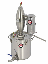 cheap -Steaming Wine Equipment High-Purity Distillation Equipment Can Eliminate Fusel Oil Brewing Equipment Wine Making Equipment