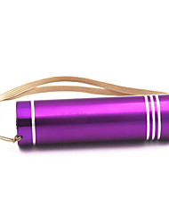 ANOWL Lampes de poche Porte-clés - 120 lm 1 Mode - Portable Transport Facile Usage quotidien Or Orange Violet Rose
