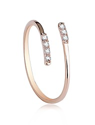 cheap -Women's Knuckle Ring Nail Finger Rings Band Rings Cubic Zirconia AAA Cubic Zirconia Fashion Personalized Zircon Copper Geometric Irregular