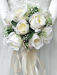 economico -Bouquet sposa Bouquet Matrimonio 25cm