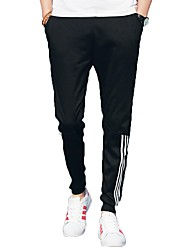 cheap -Men's Mid Rise Micro-elastic Harem Sweatpants Pants,Active Solid Cotton Acrylic Fall