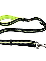 cheap -Dog Leash Reflective Solid Nylon Black Orange Green Blue