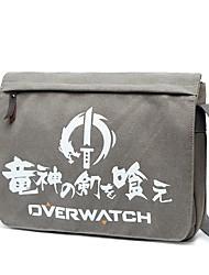 Bolsa Inspirado por Overwatch Bertolt Huber Anime Acessórios para Cosplay Lona