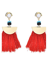 cheap -Women's Drop Earrings Bohemian Oversized Cloth Line Jewelry For Party Ceremony