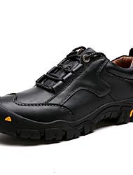 economico -Da uomo Scarpe Pelle Primavera Autunno Comoda Sneakers Per Casual Nero Marrone