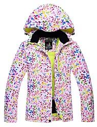 Недорогие -Жен. Лыжная куртка Сохраняет тепло С защитой от ветра Лыжи Катание на лыжах Зимние виды спорта