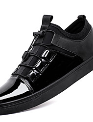 cheap -Men's Shoes Leatherette Spring Summer Comfort Sneakers Gore For Casual Outdoor Black