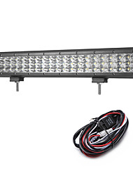 189W 18900LM 6000K 3-Rows LED Work Light Cool White Combo Offroad Driving Light for Car/Boat/Headlight IP68 9-32V  2m 1-To-1 Wiring Harness Kit