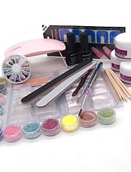 preiswerte -8 stücke nagel kit nageldekoration typ stil nail art diy