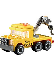 cheap -Building Blocks Crane Toys Excavating Machinery Kids 1 Pieces