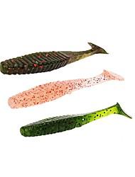 """preiswerte -10 Stück Weiche Fischköder / Gummifische g/Unze mm/3"""" Zoll Seefischerei Köderwerfen Spring Fischen Fischen im Süßwasser Karpfenangeln"""