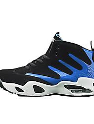 economico -Da uomo Scarpe Gomma Autunno Comoda scarpe da ginnastica Basket Lacci Per Bianco/nero Nero/Rosso White/Blue
