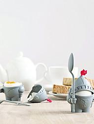 Недорогие -солдат формы яйцо держатель экологически чистый кухонный завтрак жестко отварной пластиковый яйцо чаша кадр