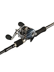 cheap -Fishing Rod + Reel Casting Rod Carbon Steel 1.8/2.1/2.4/2.7/ cm Sea Fishing Bait Casting Spinning Carp Fishing Lure Fishing General