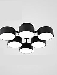 cheap -ZHISHU 6-Light Flush Mount Downlight - Mini Style, Designers, 220-240V, Warm White / White, LED Light Source Included / 15-20㎡