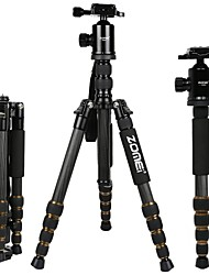 cheap -Carbon Fiber 5 sections Universal Tripod