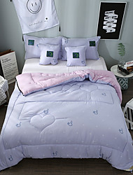Comfortable 1pc Quilt,Polyester Hand-made Reactive Print Cartoon