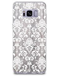 cheap -For Case Cover Pattern Back Cover Case Wood Grain Lace Printing Soft TPU for Samsung Galaxy S8 Plus S8 S7 edge S7 S6 edge plus S6 edge S6