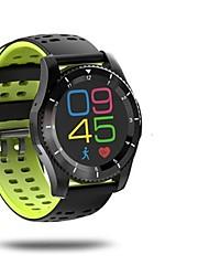 economico -Per uomo Orologio alla moda Quarzo Monitoraggio frequenza cardiaca GPS Guarda Pedometro Fitness tracker Cronometro Silicone Banda Bianco