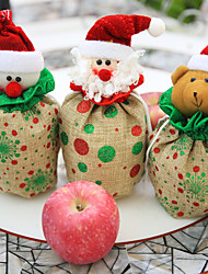 Storage Bag Other Snowmen Santa Holiday Residential Halloween Christmas PartyForHoliday Decorations