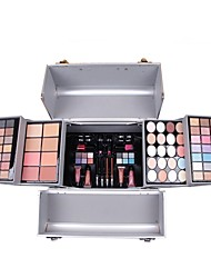 cheap Makeup For Eyes-102 Foundation Powder Concealer/Contour Blush Highlighters/Bronzers Pressed Powder+Concealer Shadow Eyeliner Eyebrow+Lip Gloss Lip Liners