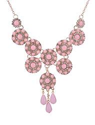 Жен. Ожерелья с подвесками Multi-камень Геометрической формы Резина Стразы Мода Регулируется Бижутерия Назначение Повседневные
