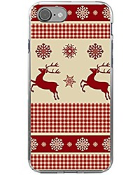 Case For iPhone X iPhone 8 Pattern Back Cover Christmas Soft TPU for iPhone X iPhone 8 Plus iPhone 8 iPhone 7 Plus iPhone 7 iPhone 6s