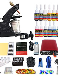 Starter Tattoo-Kits Mini Stromversorgung 5 x Tattoonadeln RL 3 5 x Tattoonadeln RL 5 5 x Tattoonadeln RS 5 5 x Tattoonadeln RS 3