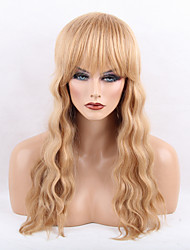 Women Human Hair Capless Wigs Medium Auburn/Bleach Blonde Honey Blonde Black Long Body Wave Hot Sale