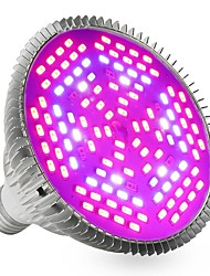 cheap -YWXLIGHT® 1pc 24W 2400-2500lm E27 Growing Light Bulb 120 LED Beads SMD 5730 Decorative Purple 85-265V