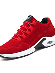 cheap -Men's Shoes Knit Winter Fall Comfort Athletic Shoes Running Shoes for Athletic Office & Career Red Dark Grey Black