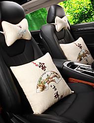 Settore automobilistico poggiatesta Cuscini della vita Per Universali Tutti gli anni Poggiatesta per auto Cuscini lombari per auto Stoffe