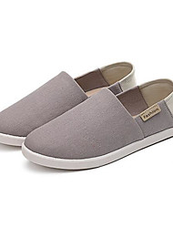 cheap -Women's Shoes Canvas Spring Summer Comfort Loafers & Slip-Ons For Casual Red Coffee Gray Dark Blue