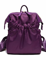 cheap -Women Bags Nylon Tote Zipper for Casual All Seasons Black Purple Fuchsia