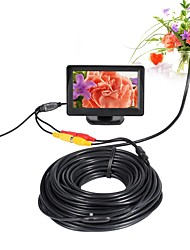 cheap -AV Endoscope Camera 5V 5.5mm Lens Mini Camera NTSC Waterproof IP66 Inspection Borescope Snake Pipe Cam Night Vision 20m Cable