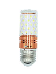 1 Pça. 12W E27 Lâmpadas Espiga T 60 leds SMD 2835 Branco Quente Branco Cor da fonte de luz dupla 1000lm 3000-3500  6000-6500  3000-6500K