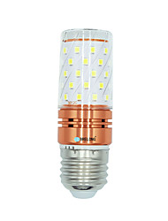 preiswerte -1 Stück 12W E27 LED Mais-Birnen T 60 Leds SMD 2835 Warmes Weiß Weiß Dual Light Source Farbe 1000lm 3000-3500  6000-6500  3000-6500K AC