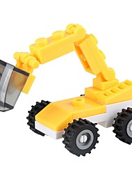cheap -Building Blocks Excavator Toys Excavating Machinery Vehicles Military Non Toxic Classic New Design Kids Adults' Pieces