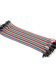 cheap -Male To Male Breadboard Wires For Electronic Diy 22Cm For Arduino