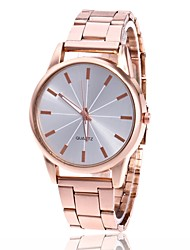 cheap -Men's Women's Fashion Watch Wrist watch Chinese Quartz Metal Band Minimalist Casual Silver Gold Rose Gold