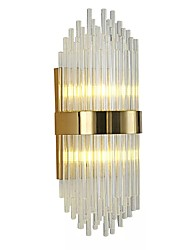 3 G9 Simple Modern/Contemporary Retro Electroplate Feature for Crystal LED Bulb Included,Ambient Light Wall Sconces Wall Light