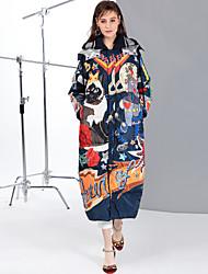 baratos -Mulheres Fofo Moda de Rua Duvet - Estampado